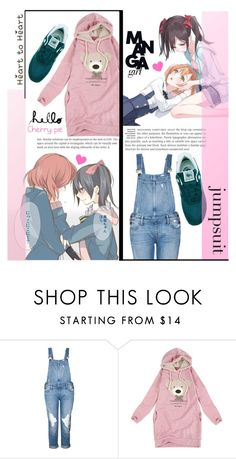 """""""~Teenage date night~"""" by dolly-valkyrie ❤ liked on Polyvore featuring Paige Denim, New Balance and DateNight"""