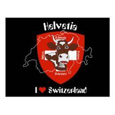 I love Switzerland postcard - love cards couple card ideas diy cyo