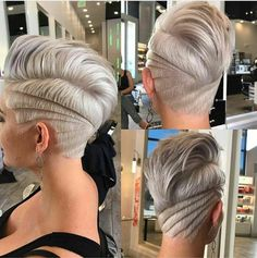 here are 20 short cuts trend summer New Hair Cut Trends Undercut Hairstyles, Funky Hairstyles, Latest Hairstyles, Undercut Pixie, Pixie Haircuts, Casual Hairstyles, Medium Hairstyles, Celebrity Hairstyles, Weave Hairstyles