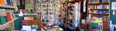 """The Book Arts Bookshop in Hoxton, London. If you click on the image to go to the site, then click on """"contents"""" in the upper left. They sell artist books and small press publications."""