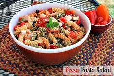 Mommy's Kitchen - Old Fashioned & Country Style Cooking: Pizza Pasta Salad {Summer Salad Recipe} @Walmart