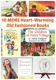 10 MORE Old-Fashioned Heart-Warming Books for Kids | The Jenny Evolution