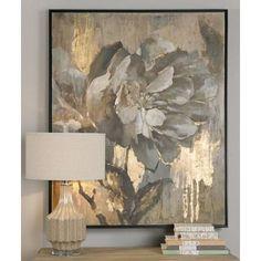 """Uttermost Dazzling 51 1/4"""" High Canvas Wall Art"""