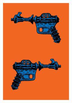 Raygun #scifi #retrofuturism #futuristic artist unknown