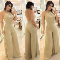 Jumpsuit Dressy, Dressy Pants, Jumpsuit Outfit, Look Fashion, Hijab Fashion, Fashion Dresses, Womens Fashion, Classy Outfits, Casual Outfits