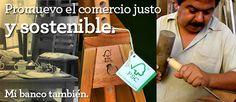 Triodos Bank financia iniciativas de comercio justo y sostenible: http://www.triodos.es/es/empresas-instituciones/nuestros-sectores/iniciativas-sociales/comercio-justo/