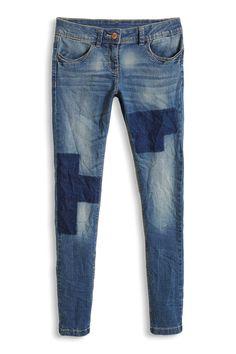 Esprit - Stretch-Jeans mit Patchwork-Waschung im Online Shop kaufen