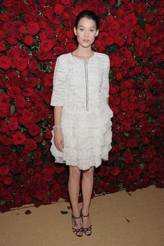 """Astrid Berges Frisbey Photos - Actress Astrid Berges-Frisbey attends the Museum of Modern Art's 4th Annual Film benefit """"A Tribute to Pedro Almodovar"""" at the Museum of Modern Art on November 15, 2011 in New York City. - Emma Stone and Stars at MoMA"""