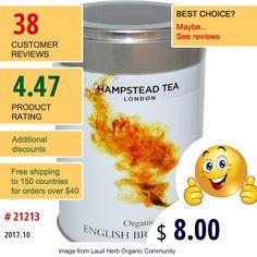 Hampstead Tea #HampsteadTea #EnglishBreakfast
