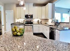 Ryan Homes Build - Fox Chapel model kitchen with azul platino granite