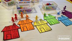 """Counters are a fantastic, versatile math tool! I may or may not hoard counters, and was so excited to find this """"All About Me"""" set. ..."""
