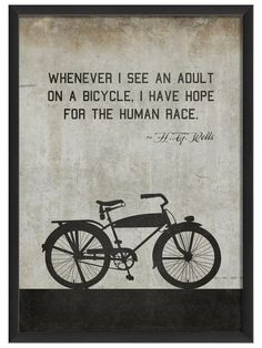 Bicycle by Twain (White) by Artwork Enclosed at Gilt