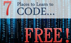 You don& have to go to college or get a big loan to get up to speed. There are places to learn to code for free and those resources are listed here. Computer Coding, Computer Programming, Programming Languages, Computer Science, Data Science, Going Back To College, Small Business Trends, Web Design, Graphic Design