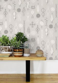 Image of Equinox Wallpaper - Stone