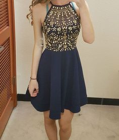 Homecoming dresses,short prom dresses,cheap homecoming dresses,sexy short prom dresses,A-line Navy Blue Homecoming Dresses with Beading Cute Homecoming Dresses, Navy Blue Prom Dresses, Prom Dresses For Teens, Prom Dresses Blue, Cheap Prom Dresses, Pretty Dresses, Sexy Dresses, Evening Dresses, Graduation Dresses