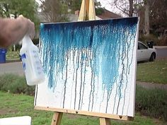 Bromstad demonstrates one of his favorite painting techniques. From the experts at .David Bromstad demonstrates one of his favorite painting techniques. From the experts at . Art Diy, Diy Wall Art, Wall Decor, Mural Wall, Diy Canvas, Canvas Art, Painting Canvas, Painting Walls, Canvas Ideas