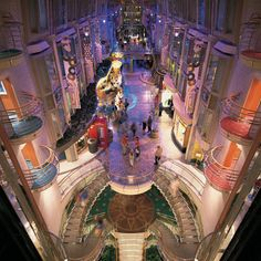 Independence of the Seas | Relaxing interior areas provide respite from an adventure packed journey.