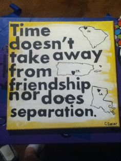 Long distance friendship gift featuring our home states and where we met Long Distance Friendship, Long Distance Love, Friendship Crafts, Friendship Quotes, Miss My Best Friend, College Quotes, Bestfriends, Giving, Becca