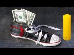 PON UN BILLETE en tu ZAPATO en la noche de FIN DE AÑO Y MIRA QUE SUCEDE!! - YouTube Youtube, Converse, Money, Videos, Sneakers, End Of Year, Charms, Night, Tutorials