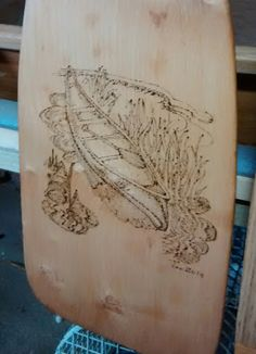 Paddle decorations/pyrography