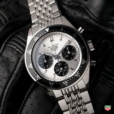 Introducing the all new 2017 Heuer Autavia Calibre Heuer-02 Jack Heuer Limited Edition. #DontCrackUnderPressure More at: http://tag.hr/AutaviaHeuer02