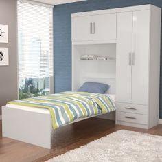 Resultado de imagem para guarda roupa com camas embutidas for Disenar dormitorio juvenil 3d