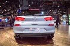 2018 Hyundai Elantra GT Sport Rear View