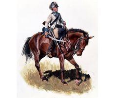 3rd Continental Light Dragoons.