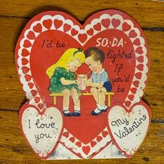 Vintage Valentine's can be given to a loved one for Valentine's Day, displayed in a metal flower frog, or clipped to something to add love to your home decor. Bundles of similar styles or topics have been created. See the pictures for more details. 4 × 3 1/2 in. Flower Frog, Antiques For Sale, Antique Decor, Metal Flowers, Vintage Valentines, Valentine Decorations, Vintage Items, Old Things, Diy Projects