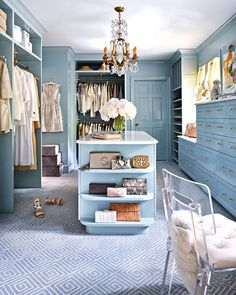 """1,155 Likes, 19 Comments - STARK (@starkcarpet) on Instagram: """"Our dream: an old #HollywoodGlam closet with iconic blue hues and our 'Keagan' #carpet in colorway…"""""""
