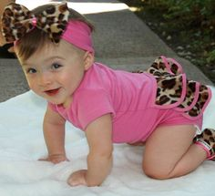 Lollipop Leopard 3pc Baby Gift Set-Baby Bella Maya,Lollipop Leopard 3pc Baby Gift Set,onesie set,unique baby gift i WILL rock my niece out in stuff like this!
