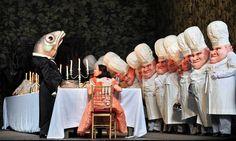 "Aleksandra Kurzak as Gretel in a scene from ""Hansel and Gretel"" at the Metropolitan Opera"
