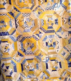 Sunshine Kaleidoscope Quilt. See more quilts @ suzyquilts.com