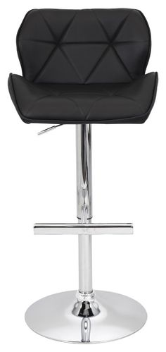 Aceves Adjustable Height Swivel Bar Stool