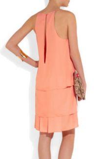 Acne's melon slip dress. TIPS TO WEAR SLIP DRESSES from KimmyErin.com