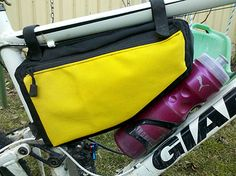 DIY framebag. Great pocket.