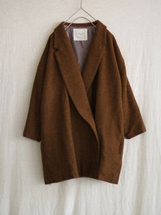 Antiquités England wool twill chester coat (#60530)