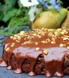 Chocolate-Pear Cake - Gluten Free
