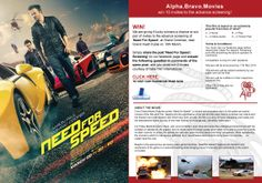 We are giving 5 lucky winners a chance to win pair of invites to the advance screening of 'Need For Speed' at Grand Cinemas, near Grand Hyatt Hotel on 19th March. Simply share the post 'Need For Speed | Screening' on our facebook page and answer the following question in comments of the same post and you could win 2 invites, courtesy of Italia Film.