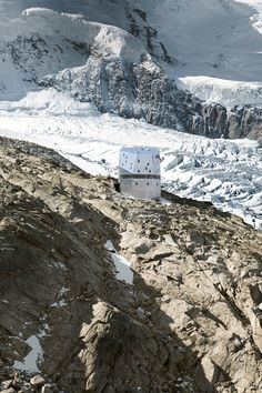 Monte Rosa Hut, Zermatt, Switzerland Built to mark the 150th anniversary of the Swiss Federal Institute of Technology Zurich, the Monte Rosa hut was designed by a group of students, known as Studio Monte Rosa, who worked on the project over four semesters in collaboration with Bearth & Deplazes Architekten. The six-story structure, located nearly 9,460 feet above sea level, can accommodate 120 guests and boasts a number of sustainable features, such as a wastewater treatment plant and solar…