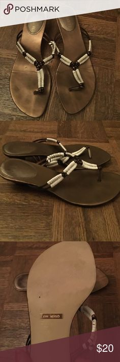Adorable Sandals By Ann Marino These Are So Cute Worn A Few Times But
