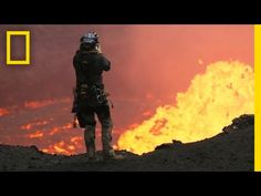 Many Drones Were Harmed In The Making Of This. - Many Drones Were Harmed In The Making Of This Spectacular Volcano VideoVideo technology and science converge on an active volcano in Vanuatu, where explorer Sam Cossman operated camera-mounted drones. Active Volcano, Drone Photography, Photography Tips, Vanuatu, South Pacific, In A Heartbeat, Dji Phantom, National Geographic, Surfing