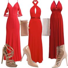Red Lady  #fashion #mode #kleider #look #outfit #style #stylaholic #sexy #dress