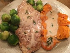 Chicken Soup for the Bowl: PORK CHOPS WITH CIDER PAN GRAVY
