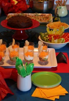 A Mexican Themed Party