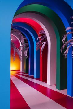 Pin by Joy Cho / Oh Joy! on Color in 2020 (With images) Bühnen Design, Flur Design, Design Trends, Interior Architecture, Interior Design, Design Interiors, Hallway Designs, Experiential, Installation Art