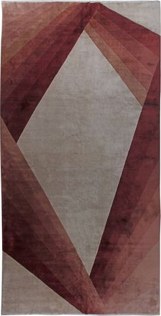 Vintage Rugs: Vintage Rug (Chinese)  for modern or oriental interior decor living room, rug with geometrical pattern