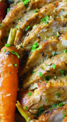 Slow Cooker Pork Loin Recipe with Vegetables ~ An amazing dinner