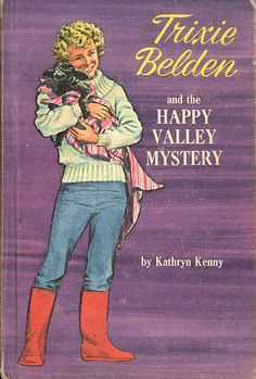 """My ABSOLUTELY FAVORITE book series when I was growing up. I got my first Trixie Belden book when I was 9 yrs old and added to my collection each birthday and Christmas well into my teen years. I enjoyed Nancy Drew, too, but she couldn't hold a candle to the """"Bob-Whites of the Glen!"""""""