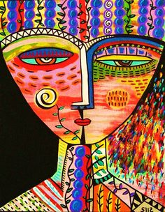 Diosa tribal de Talavera - Viña ** - SILBERZWEIG ORIGINAL arte imprimir - Espíritu Santo, recompensa, cosecha, Talavera, celebrar, vino tinto, uvas,